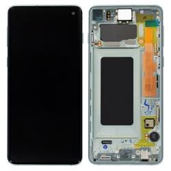 Remplacer l'écran Amoled du Samsung S10 vert prisme avec cette pièce neuve d'origine Samsung-Bricophone_1