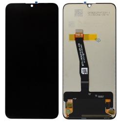Réparer l'écran LCD cassé du P Smart 2019 noir avec BricoPhone