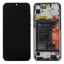Pièce détachée pour remplacer écran, châssis, batterie et éléments pour Honor 10 Lite noir de Huawei_1