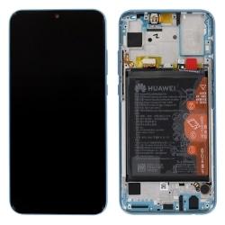 Bloc écran neuf bleu saphir d'origine avec batterie pour Honor 10 Lite à changer_1
