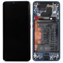 Bloc écran bleu avec batterie d'origine pour remettre à neuf un Mate 20 Pro_1