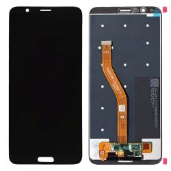 Ecran Noir compatible avec vitre et LCD prémonté pour Huawei Honor View 10