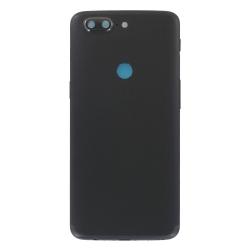 Coque arrière Noire d'origine pour OnePlus 5T_photo1