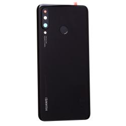 Vitre arrière d'origine avec lecteur d'empreintes pour Huawei P30 Lite Noir Perle_photo1