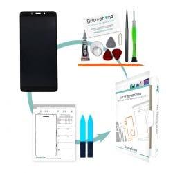 Kit de réparation Ecran Noir avec vitre et LCD pré-assemblé Xiaomi Redmi 6