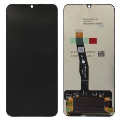 Ecran Noir vitre + LCD pré-monté pour Honor 20 Lite