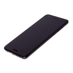 Bloc Ecran Noir COMPLET prémonté sur chassis + batterie pour Huawei Honor 9_photo2