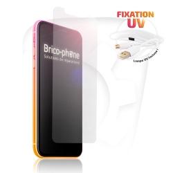 Verre trempé à fixation UV pour iPhone XR