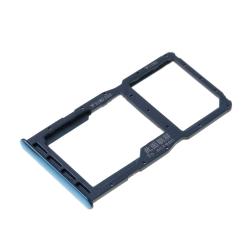 Rack Dual SIM et microSD pour Huawei P30 Lite Bleu_1