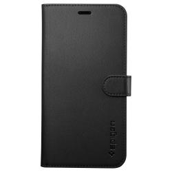 Housse portefeuille Noire Spigen pour iPhone X et XS