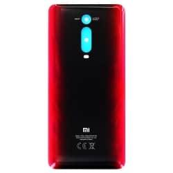 Vitre arrière pour Xiaomi Mi 9T Rouge Flamme_photo1