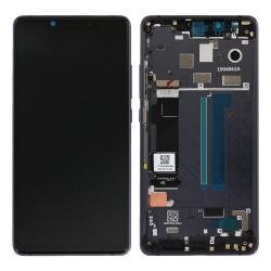 Bloc écran Amoled + vitre pré-monté sur châssis pour Xiaomi Mi 8 SE Noir_photo1