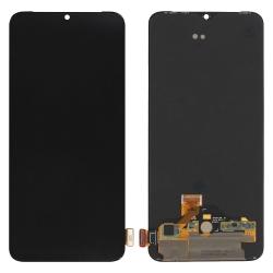 Ecran Noir vitre + Optic Amoled pré-monté pour OnePlus 7_photo1
