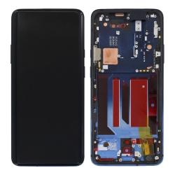 Bloc écran Amoled Nebula Blue pré-monté sur châssis pour OnePlus 7 Pro_photo1