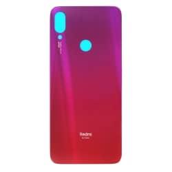 Vitre Arrière Rouge Nébuleuse pour Xiaomi Redmi Note 7_photo1