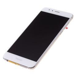 Bloc écran LCD Blanc pré-monté sur châssis + batterie pour Honor 8_photo2