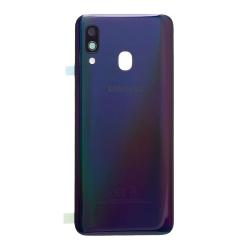 Vitre arrière Noire d'origine pour Samsung Galaxy A40_photo1