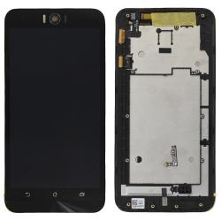 Bloc écran LCD et vitre pré-montés sur châssis pour Asus Zenfone Selfie ZD551KL