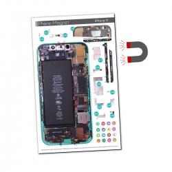 Patron magnétique d'aide au montage pas à pas pour iPhone 11 photo1