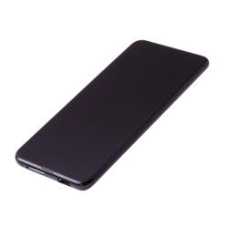 Bloc Ecran Noir COMPLET pré-monté sur châssis + batterie pour Huawei P Smart Z photo 1