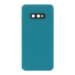 Vitre arrière compatible pour Samsung Galaxy S10e Vert Prisme