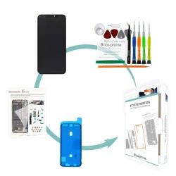 Kit de réparation Brico-phone Ecran NOIR iPhone XS Max Premier prix