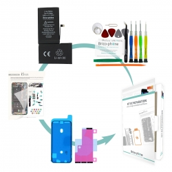 Kit de remplacement Brico-phone pour batterie compatible d' iPhone XS Max