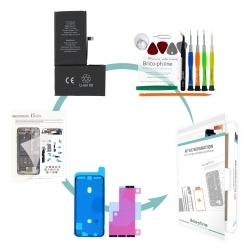 Kit de remplacement Brico-phone pour batterie strictement identique à l'originale d' iPhone XS Max