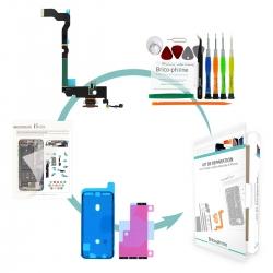 Kit Brico-phone pour changer le connecteur de charge or pour iPhone XS Max