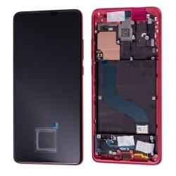 Bloc écran Amoled complet pré-assemblé pour Xiaomi Mi 9T Rouge Flamme