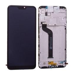 Bloc écran LCD et vitre pré-montés sur châssis pour Xiaomi Mi A2 Lite Noir
