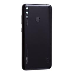 Coque arrière et lecteur d'empreintes pour Huawei Y7 (2019) Noir photo 3
