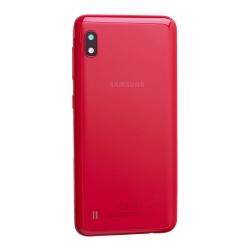 Coque arrière Rouge d'origine pour Samsung Galaxy A10 photo 3