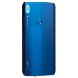Vitre arrière et lecteur d'empreintes pour Huawei Psmart Z Bleu