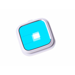 Contour de lentille Blanc pour Samsung Galaxy Note 4 blanc photo 3