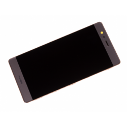 Bloc écran prémonté sur châssis avec batterie pour Huawei P9 Plus Gold photo 3