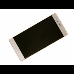 Bloc écran prémonté sur châssis avec batterie pour Huawei P9 Gold photo 3