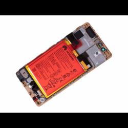 Bloc écran prémonté sur châssis avec batterie pour Huawei P9 Gold photo 4