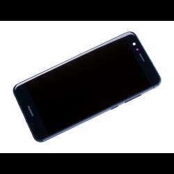 Bloc écran prémonté sur châssis avec batterie pour  Huawei P10 Lite Bleu photo 3