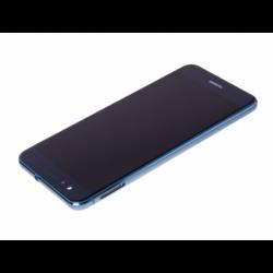 Bloc écran prémonté sur châssis avec batterie pour  Huawei P10 Lite Bleu photo 1