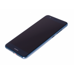 Bloc écran prémonté sur châssis avec batterie pour  Huawei P10 Lite Bleu photo 2