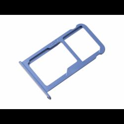 Tiroir SIM et SD pour Huawei P10 Bleu photo 2