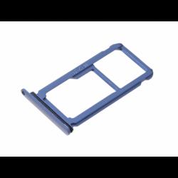 Tiroir SIM et SD pour Huawei P10 Plus Bleu photo 1