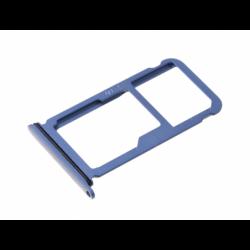 Tiroir SIM et SD pour Huawei P10 Plus Bleu photo 2