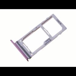 Tiroir SIM et SD pour Samsung Galaxy S9 Plus Violet photo 1