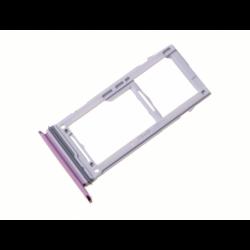 Tiroir SIM et SD pour Samsung Galaxy S9 Plus Violet photo 2