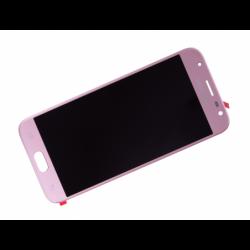 Ecran avec vitre et LCD prémonté pour  Samsung Galaxy J3 2017 Rose photo 1