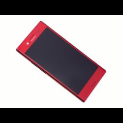 Bloc Ecran avec châssis pour Sony Xperia XZ Premium Rouge photo 3
