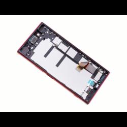 Bloc Ecran avec châssis pour Sony Xperia XZ Premium Rouge photo 4