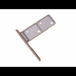 Tiroir SIM et SD pour Sony Xperia XA2 Plus Dual Or photo 1